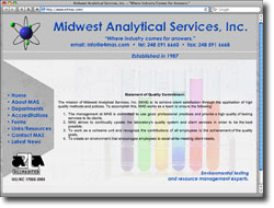 Midwest Analytical Services, Inc.