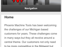 Our client Phoenix Machine Tools is now mobile!