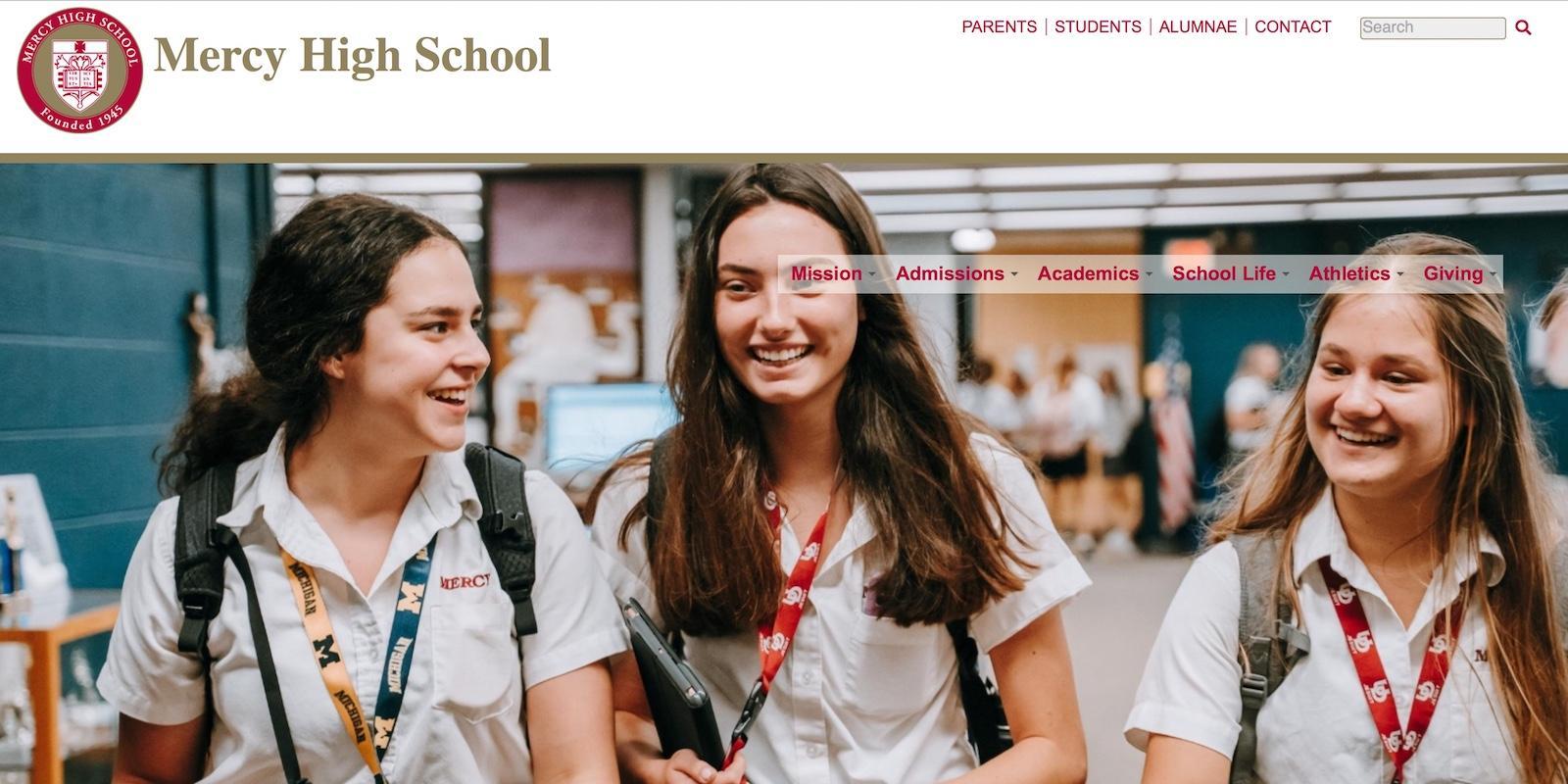 Mercy High School 2021